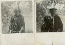 הנה אני שולח את המכתב שלי עם התמונה של צבי סבא וסבתא אתל.