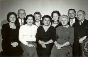 A túlélő Frost gyermekek, magyarországon 1953-ban