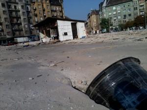 Bontás után, az egyetlen megmaradt stand, a savanyús (09.19)